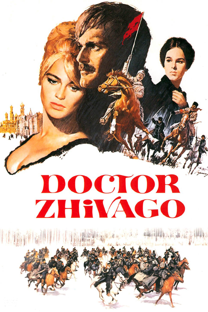 Doctor Zhivago 1965 Dual Audio Hindi 650MB BluRay 480p ESubs Download