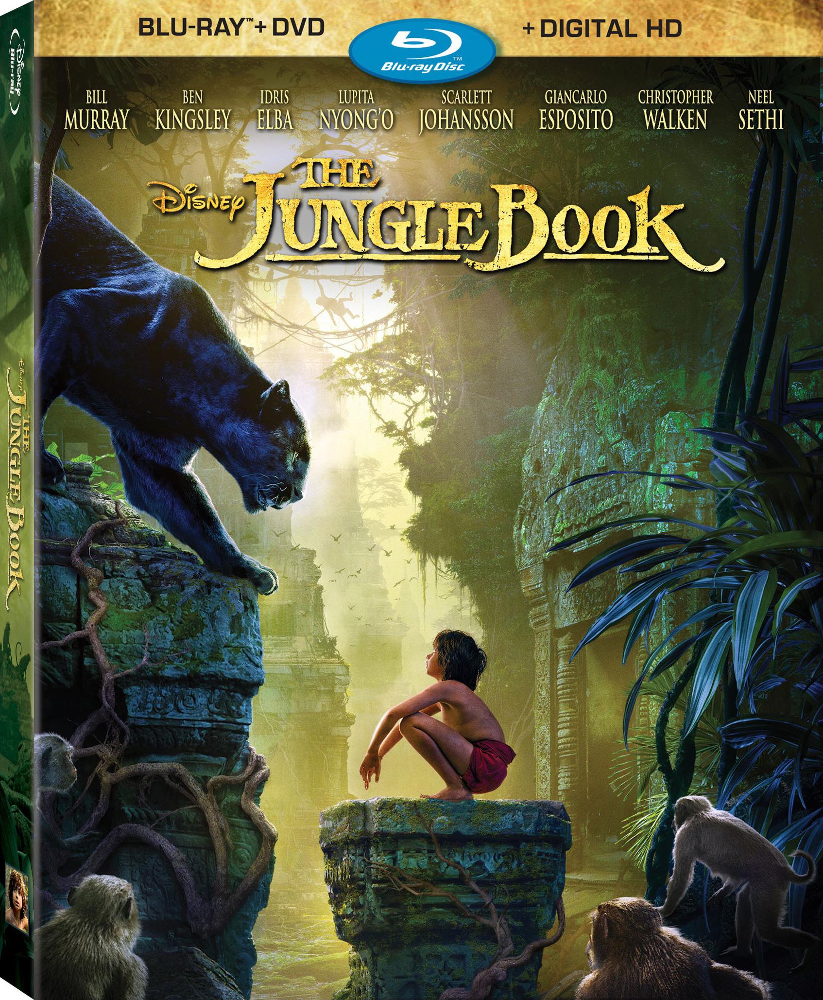 The Jungle Book 2016 Dual Audio Hindi 400MB BluRay ESub Download