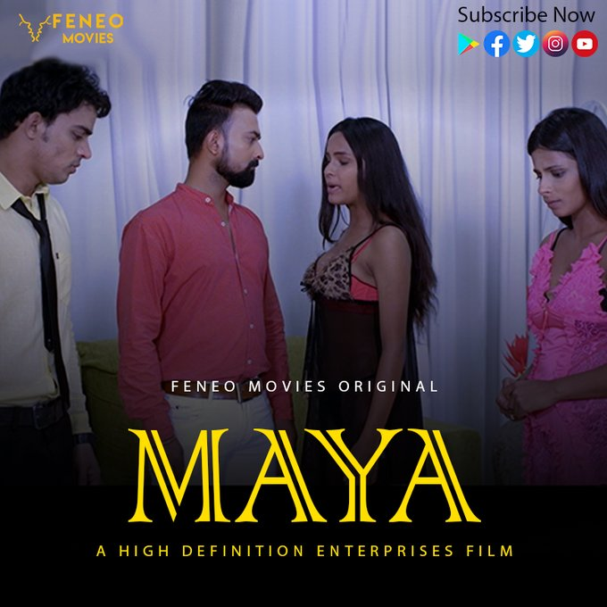 Maya 2020 S01E04 Hindi Feneo Web Series 720p HDRip 180MB Download