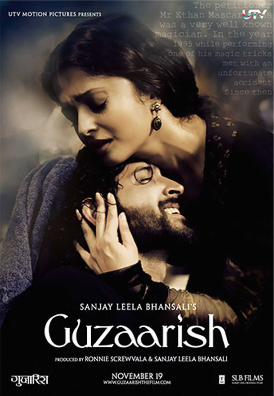 Guzaarish 2010 Hindi 450MB BluRay ESub Download