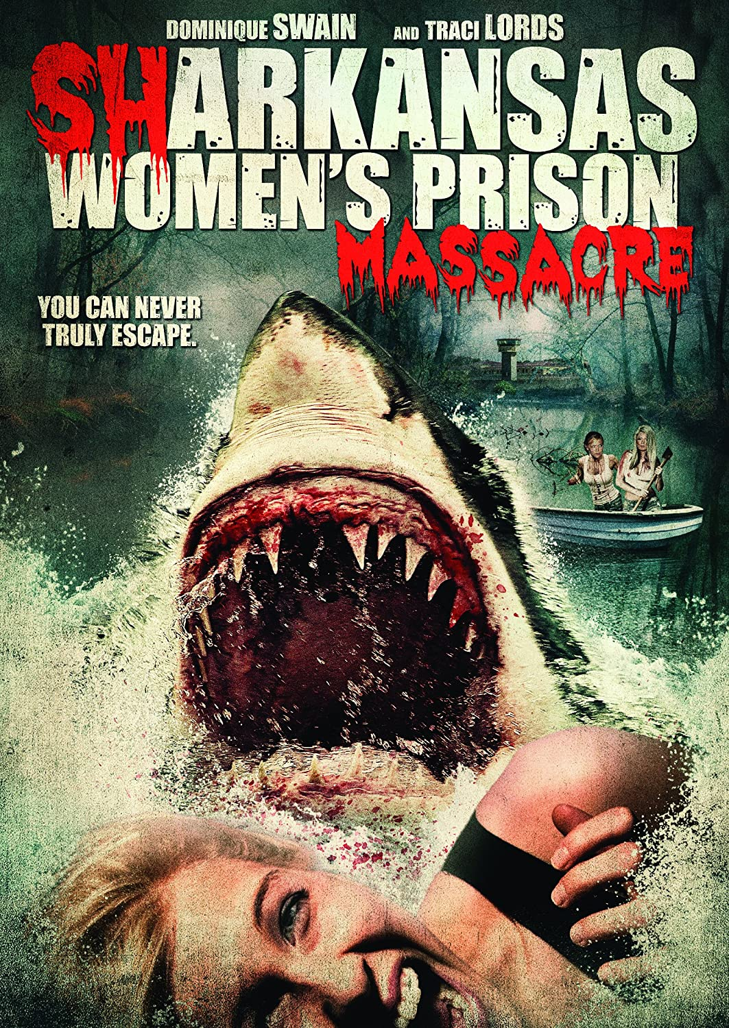 Sharkansas Women's Prison Massacre 2015 Hindi Dual Audio 720p UNRATED BluRay 750MB ESubs Free Download