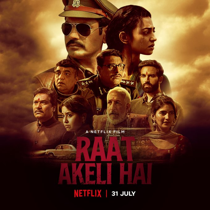 Raat Akeli Hai 2020 Hindi 450MB HDRip ESubs