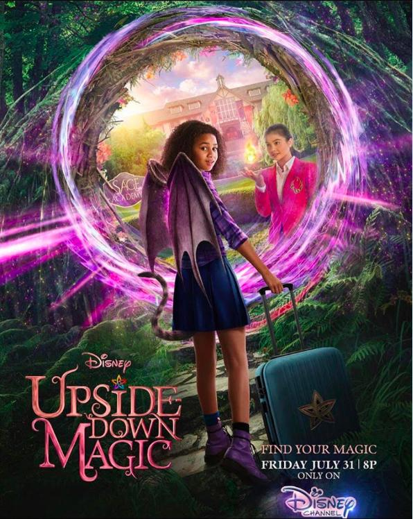 Upside Down Magic 2020 English 300MB HDRip Download