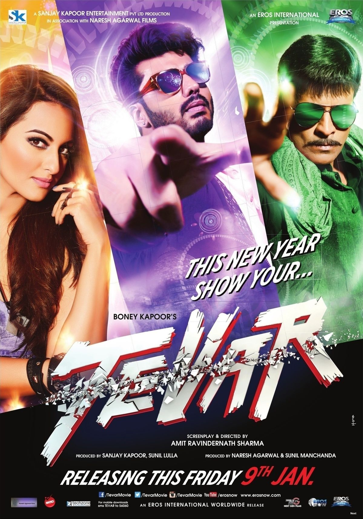 Tevar 2015 Hindi 720p HDRip ESub 1GB Download