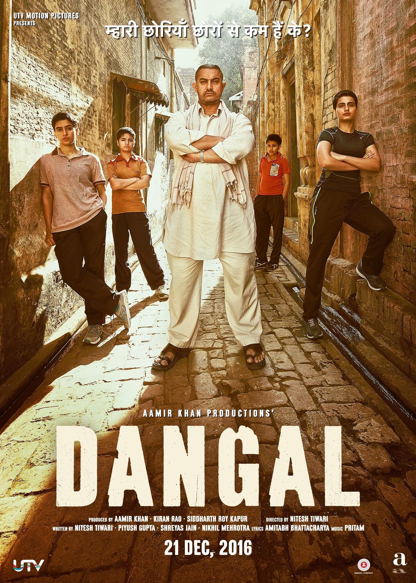Dangal 2016 Hindi 500MB BluRay Download