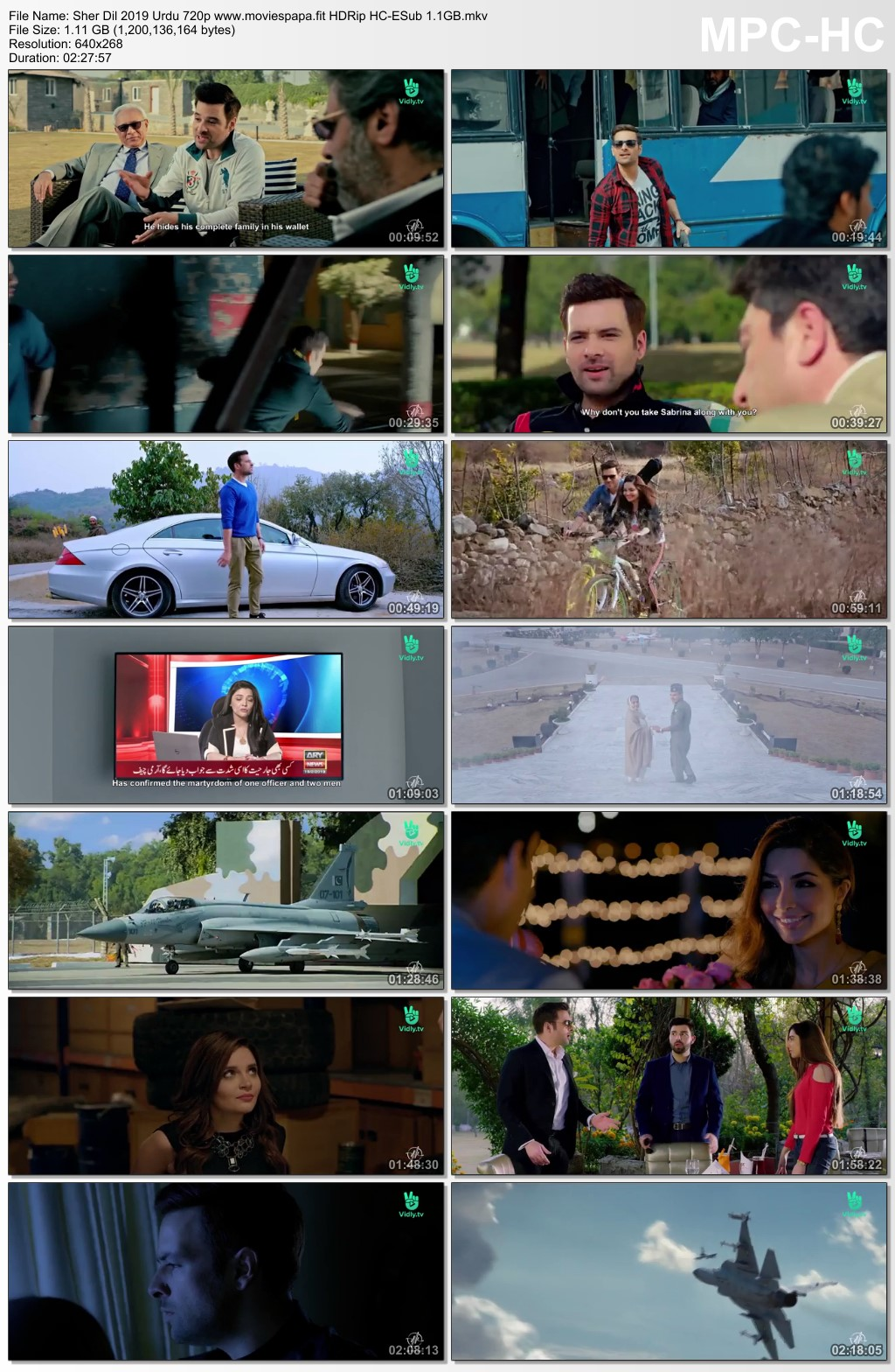 Sher Dil 2019 Urdu 720p Hdrip Hc Esub 1 1gb Download Moviespapa Top