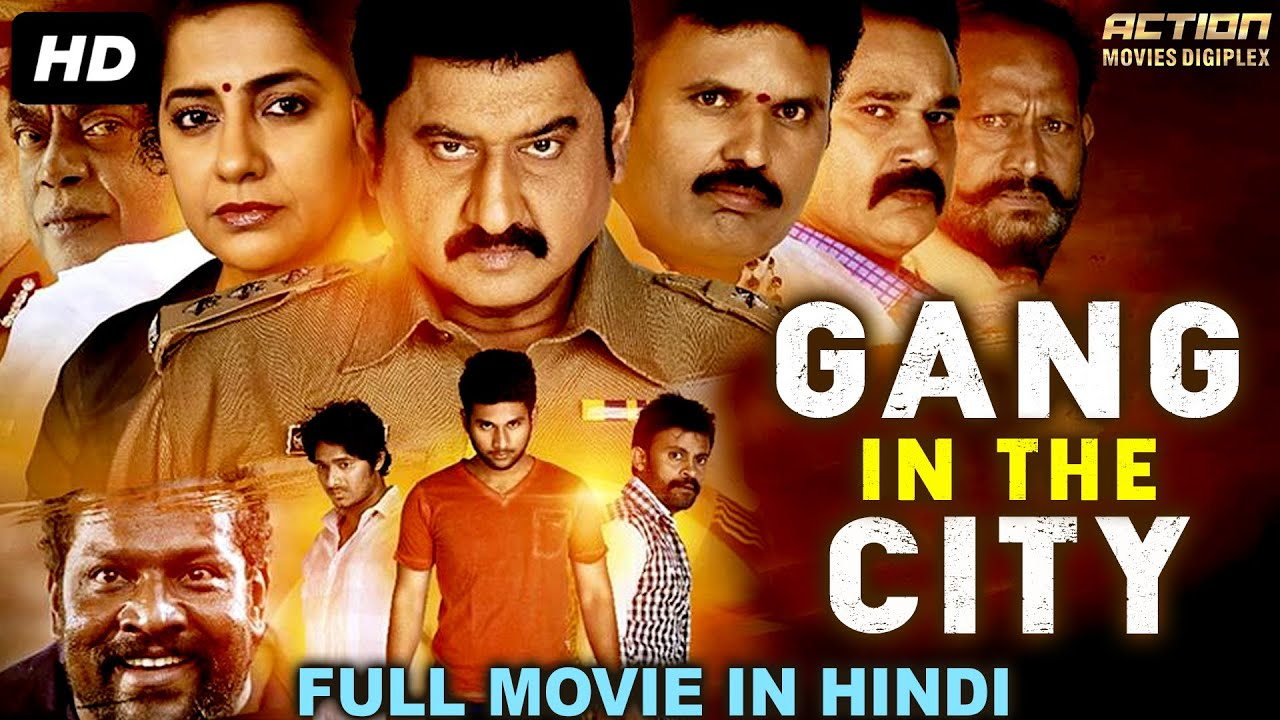 Gang In The City 2020 Hindi Dubbed 720p HDRip 600MB Download