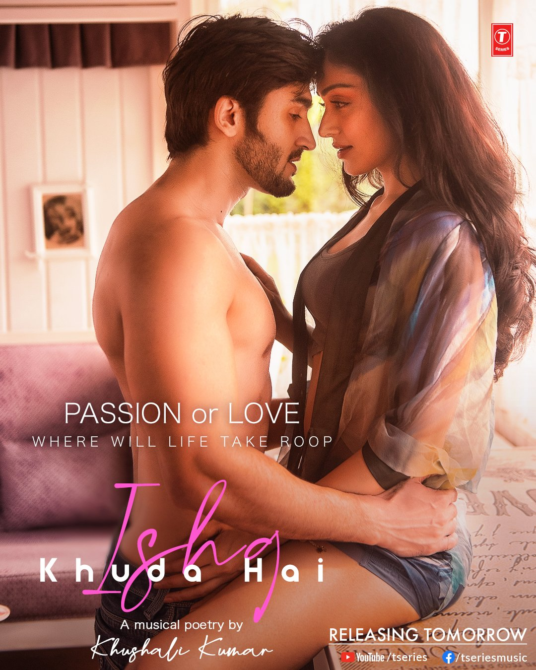 Ishq Khuda Hai By Khushali Kumar & Tulsi Kumar Official Music Video 1080p HDRip 76MB Download