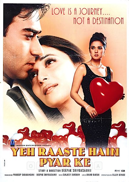 Yeh Raaste Hain Pyaar Ke 2001 Hindi 500MB HDRip Download