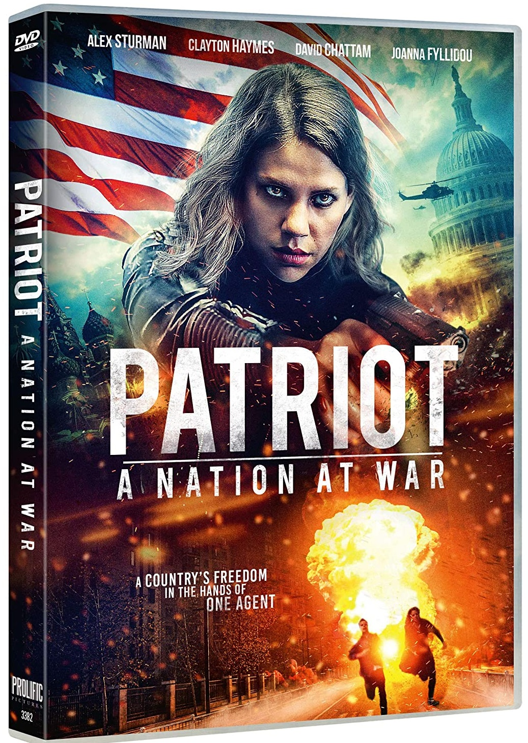 Patriot A Nation at War 2020 English 720p HDRip 800MB Download
