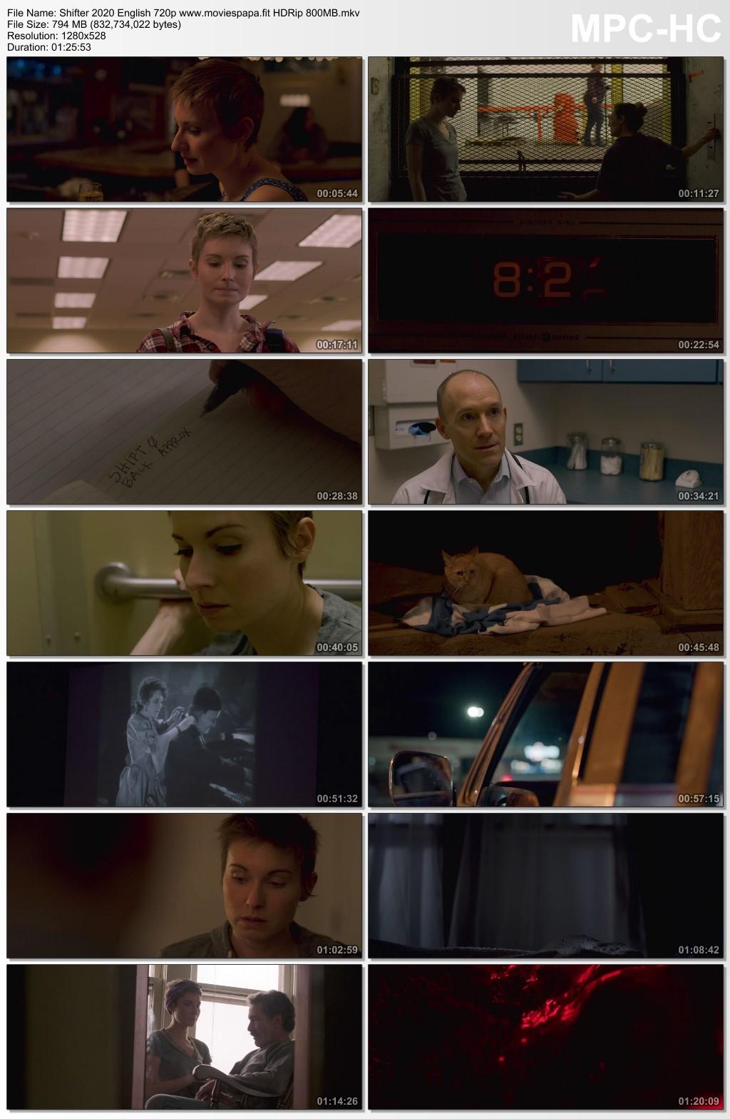 Shifter 2020 English Movie 720p HDRip 850MB Download