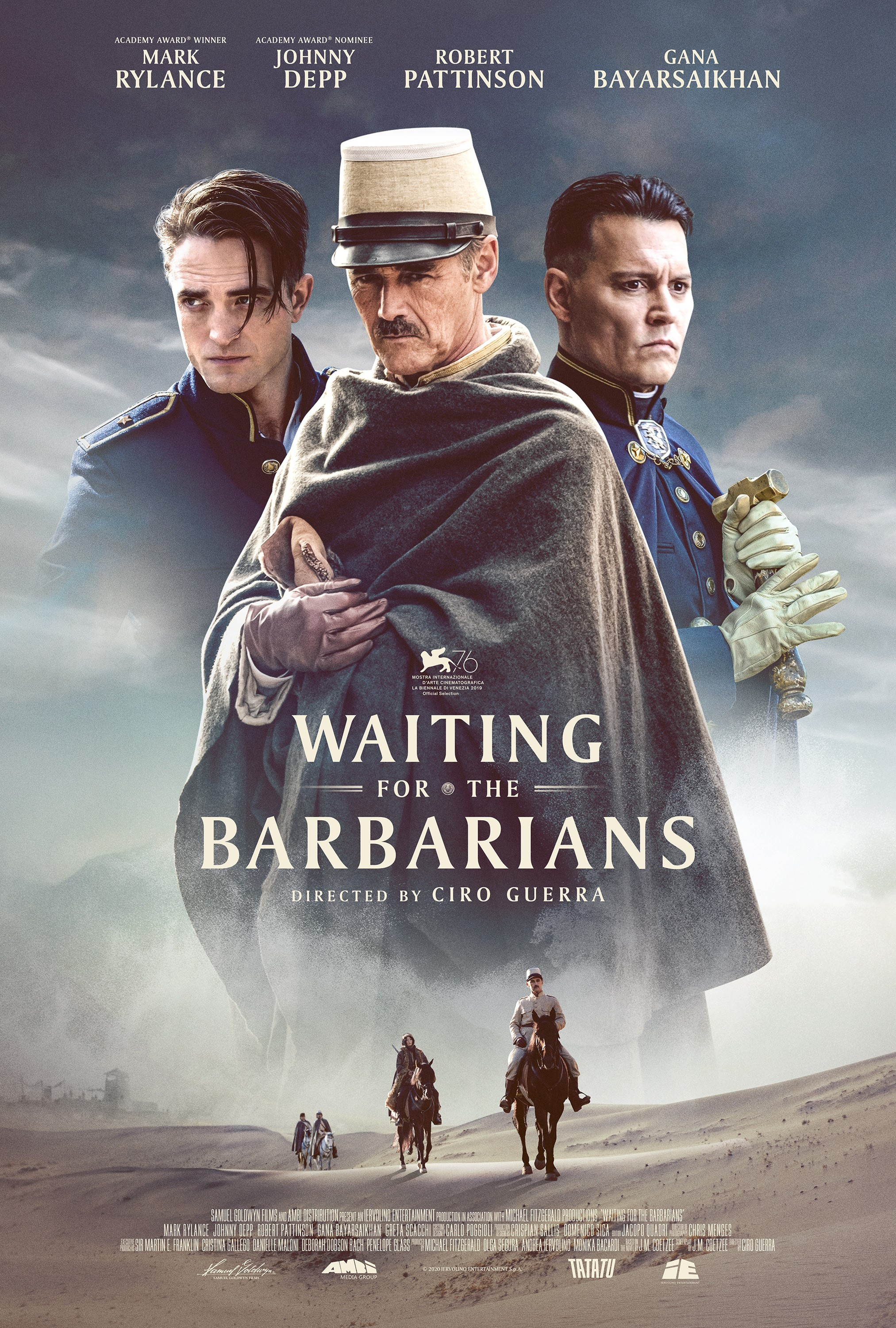 Waiting for the Barbarians 2020 English 365MB HDRip ESub Download
