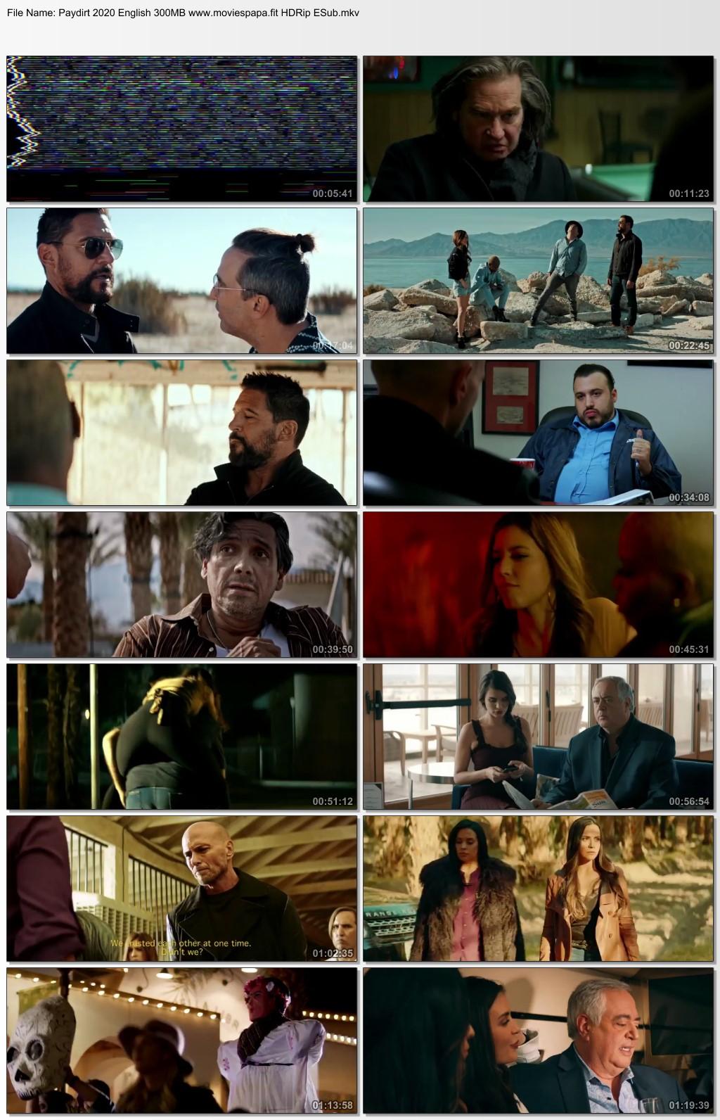 Paydirt 2020 English Movie 310MB HDRip ESub Download
