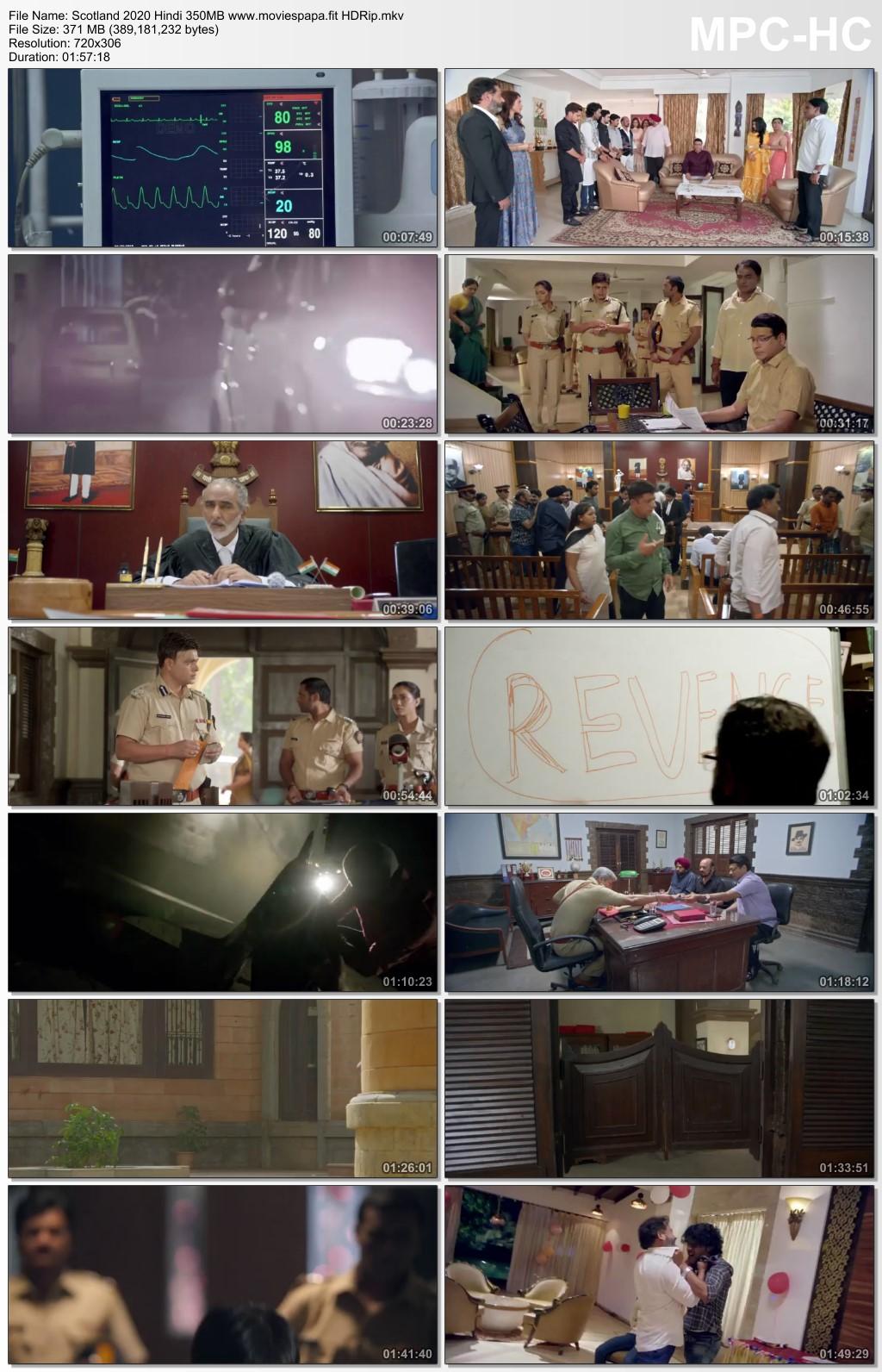 Scotland 2020 Hindi Movie 350MB HDRip Download