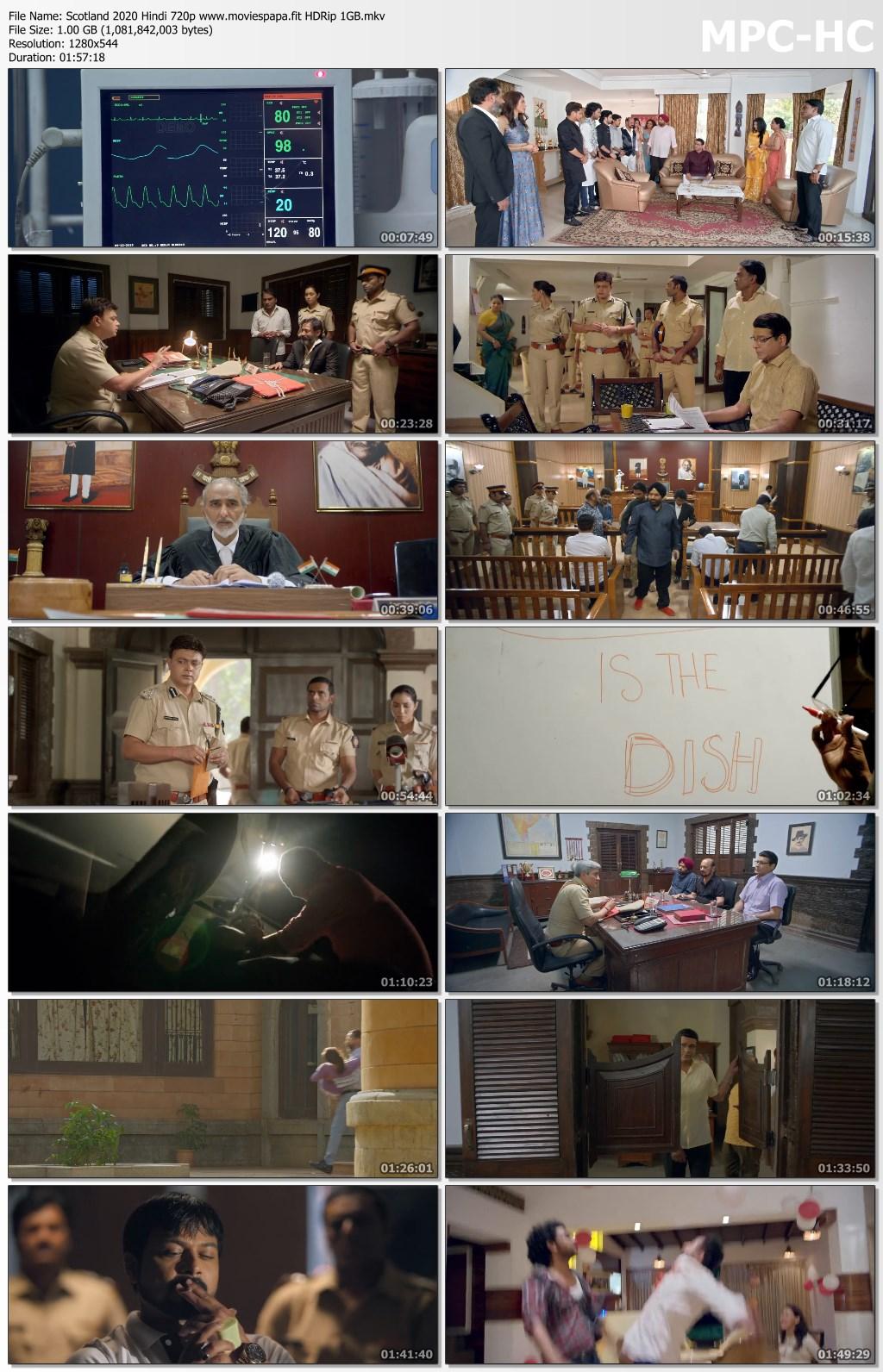 Scotland 2020 Hindi Movie 720p HDRip 1GB Download