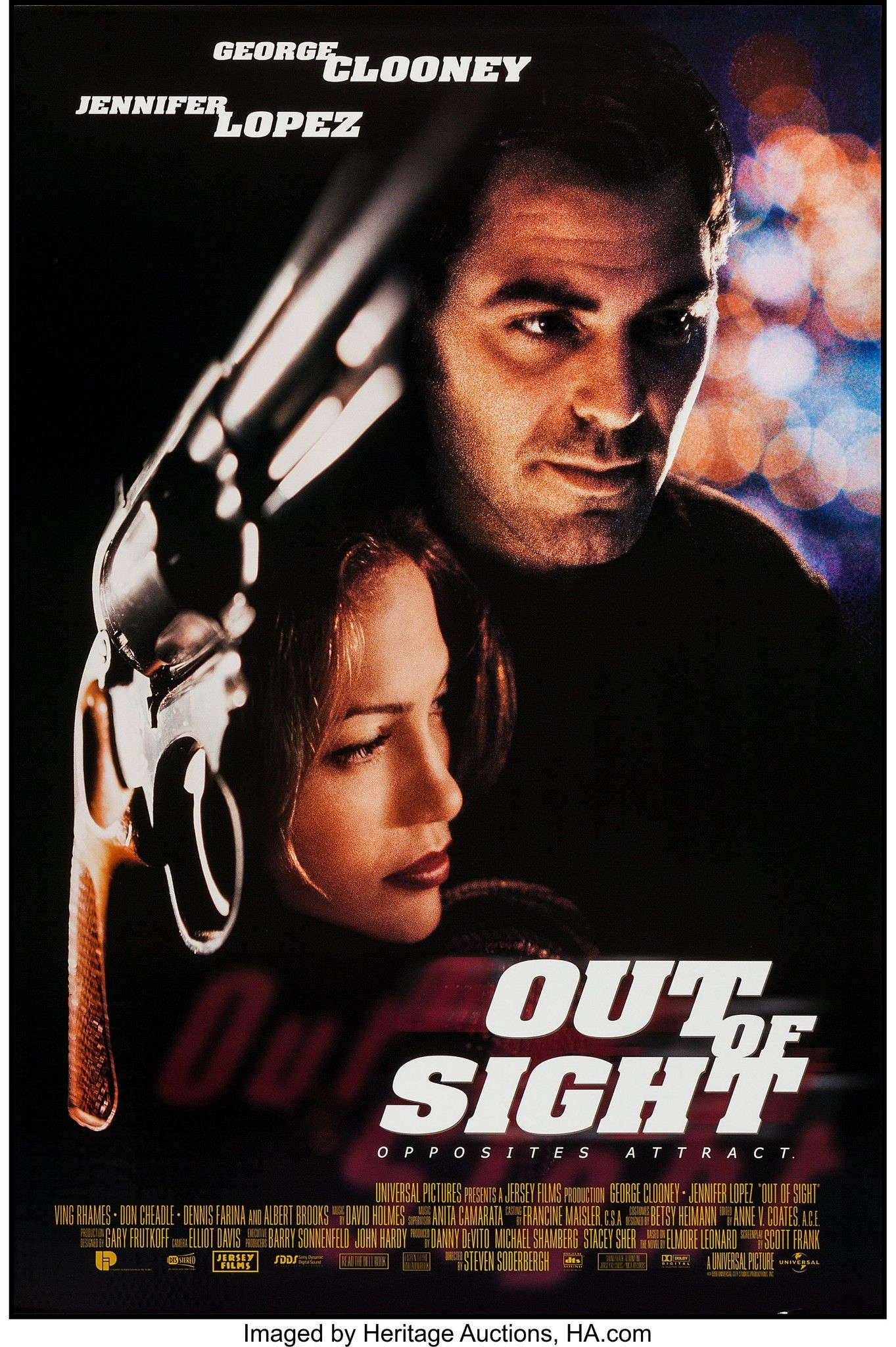Out of Sight 1998 Unrated Dual Audio Hindi 400MB BluRay 480p ESubs Download