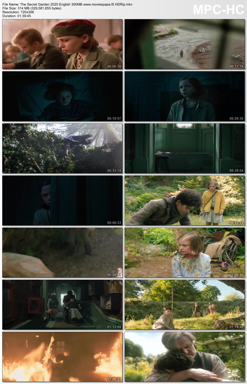 The Secret Garden 2020 English Movie 350MB HDRip Download