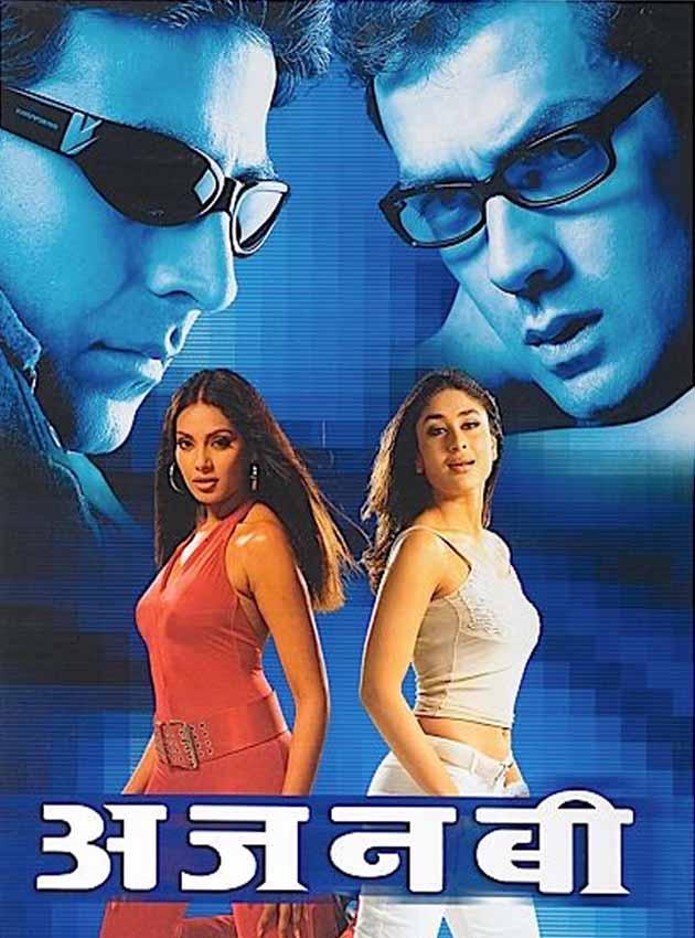 Ajnabee 2001 Hindi Movie 400MB HDRip Download