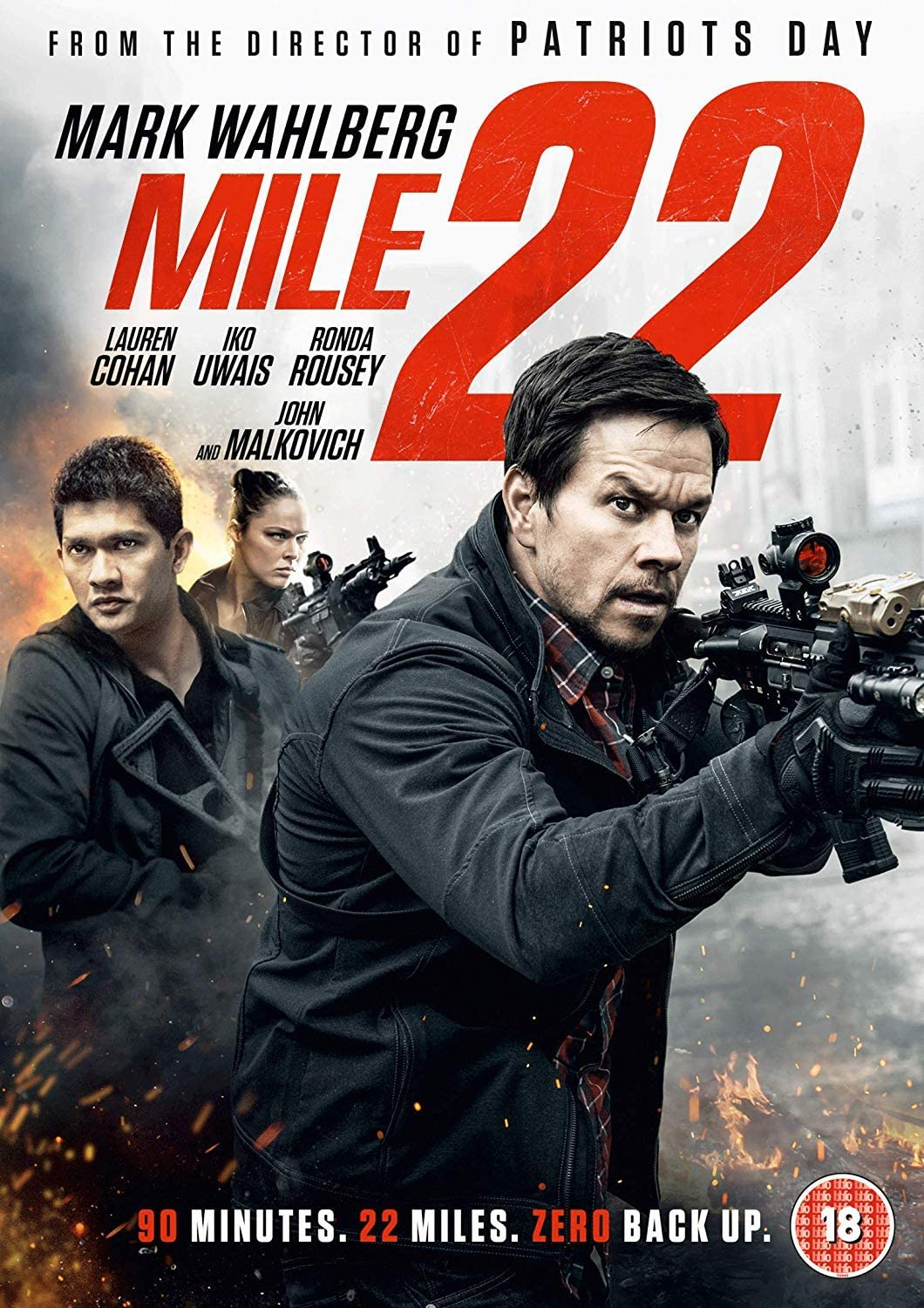 Mile 22 (2018) Hindi ORG Dual Audio 350MB BluRay ESubs Download