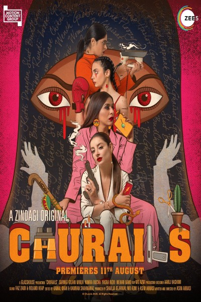 Churails 2020 Hindi Complete S01 Web Series 1.4GB HDRip 480p Download