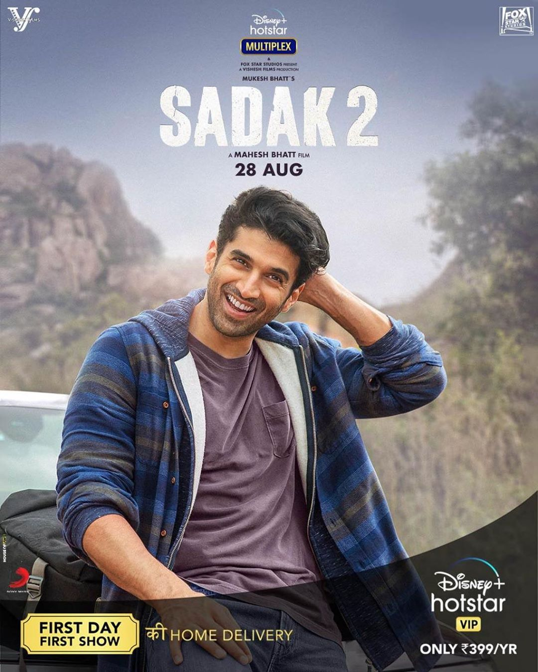 Sadak 2 2020 Hindi Movie Official Trailer 1080p HDRip 50MB Download
