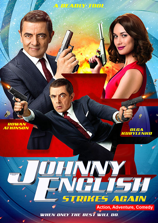 Johnny English Strikes Again 2018 Hindi ORG Dual Audio 720p BluRay 800MB ESubs x264 AAC