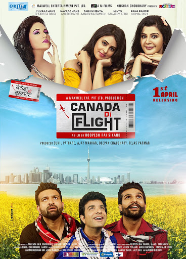 Canda Di Flight 2016 Punjabi 400MB HDRip ESubs Download