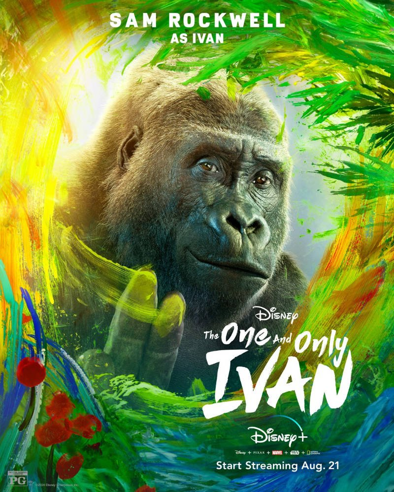 The One and Only Ivan 2020 English 720p HDRip 900MB | 310MB ESub Download
