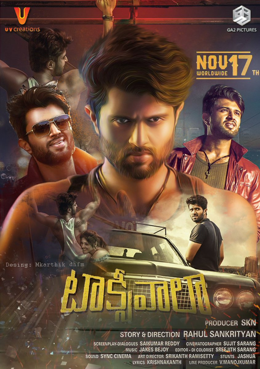 Taxiwala 2018 Dual Audio Hindi 460MB UNCUT HDRip ESubs