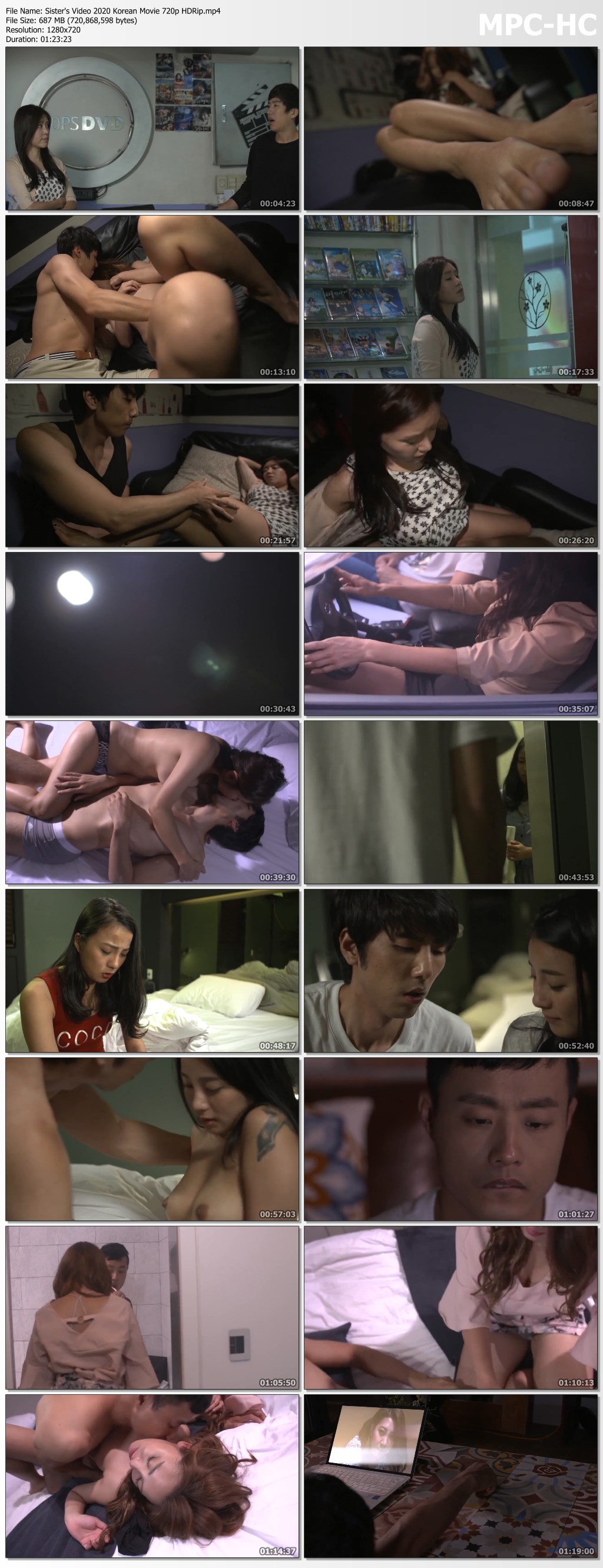 Sister's Video 2020 Korean Movie 720p HDRip.mp4 thumbs