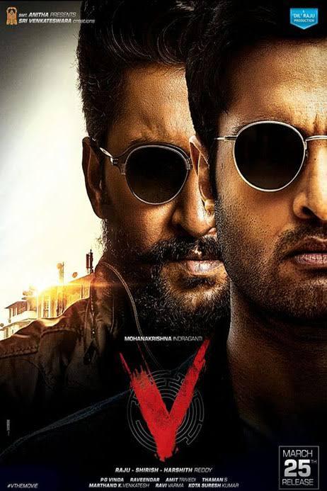 V (2020) Telugu Movie Official Trailer 1080p HDRip 35MB Download