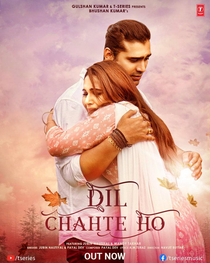 Dil Chahte Ho By Jubin Nautiyal & Payal Dev Official Video Song 1080p HDRip 57MB Download