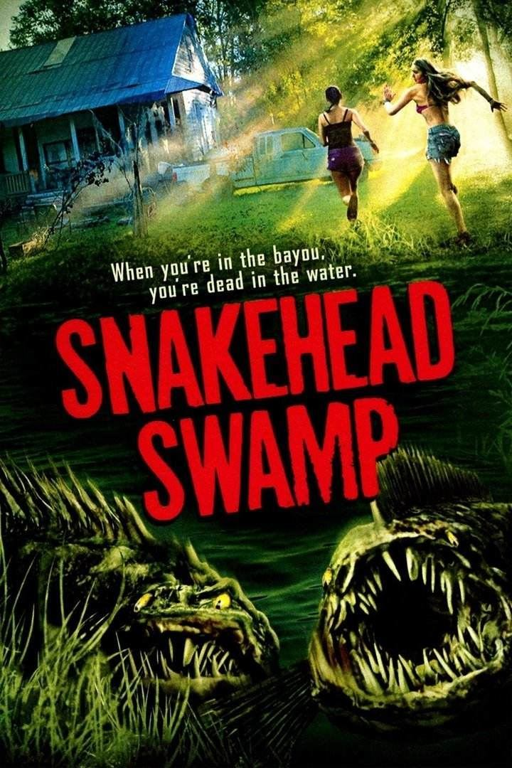 Snakehead Swamp 2014 Hindi ORG Dual Audio 720p HEVC HDRip 490MB Download