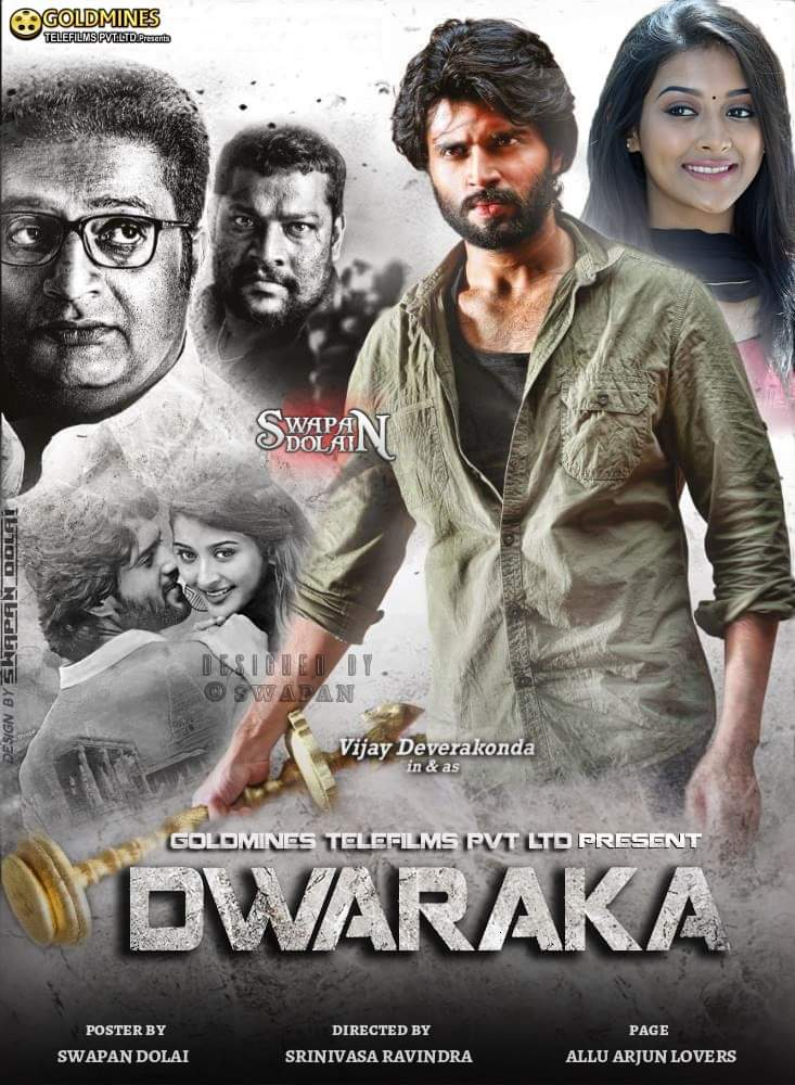 Dwaraka 2017 Hindi Dual Audio 490MB UNCUT HDRip ESubs Download