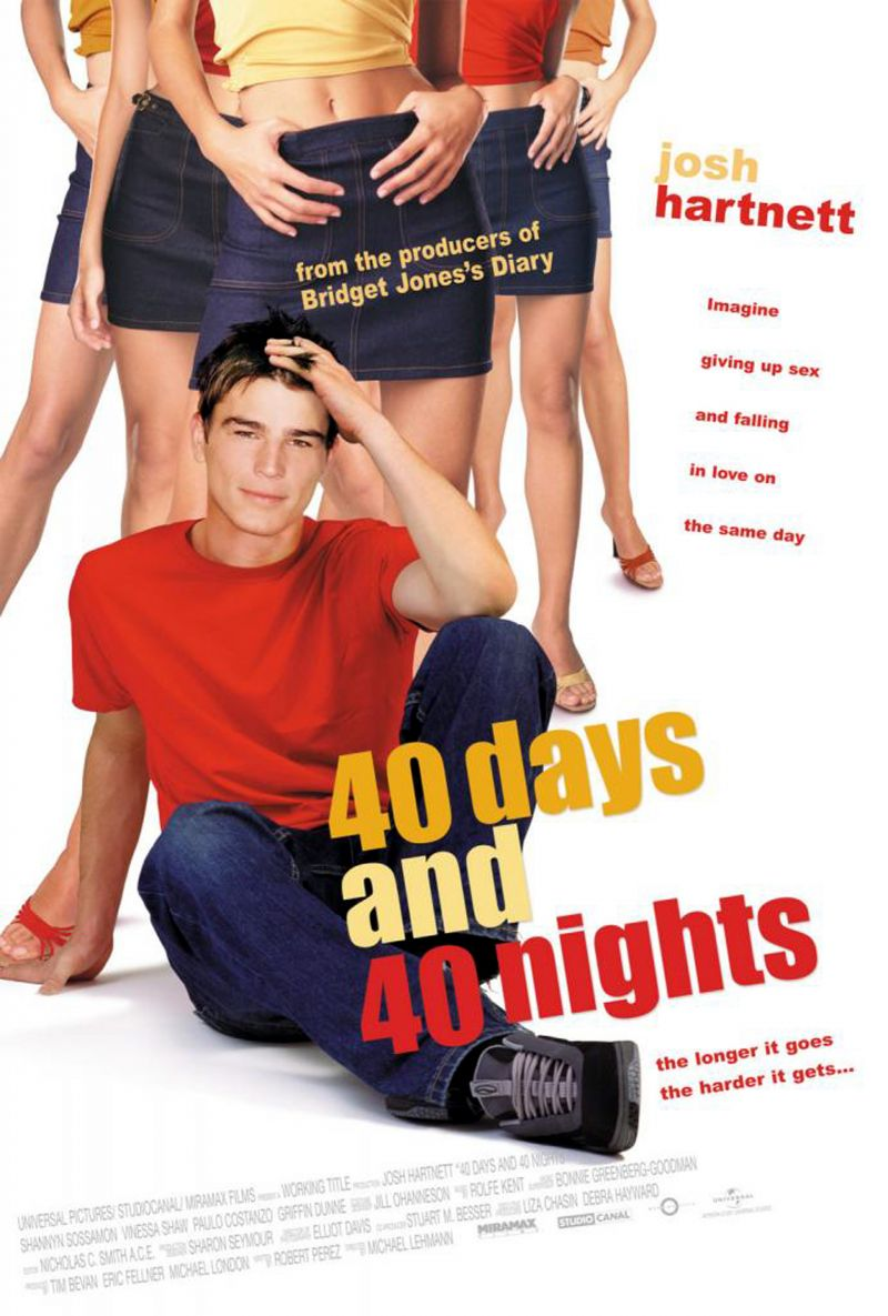 40 Days and 40 Nights 2002 Hindi ORG Dual Audio 720p BluRay ESubs 840MB Download