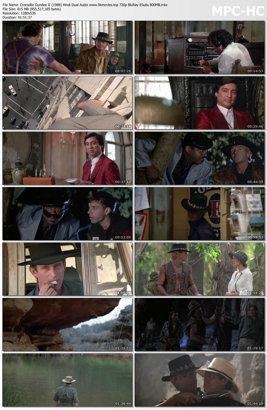 Crocodile Dundee Ii 1988 Hindi Dual Audio 720p Bluray Esubs 810mb Download 9xmovies Chat