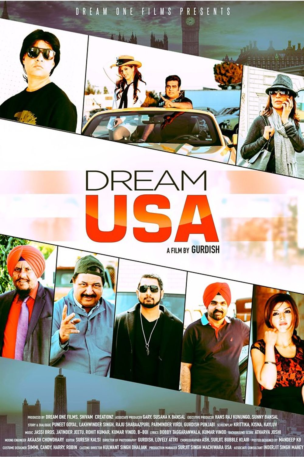 Dream USA 2019 Punjabi 720p HDRip 700MB Download