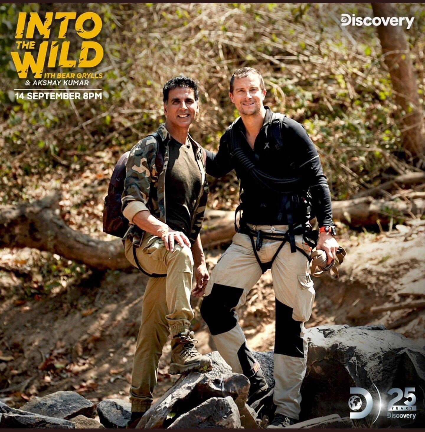 Into The Wild with Bear Grylls & Akshay Kumar (2020) S01E01 Hindi Malti Audio 242MB HDRip ESubs Download
