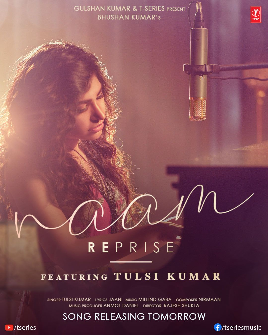 Tulsi Kumar Naam Reprise (Sad Version) By Tulsi Kumar Video Song 720p HDRip Download