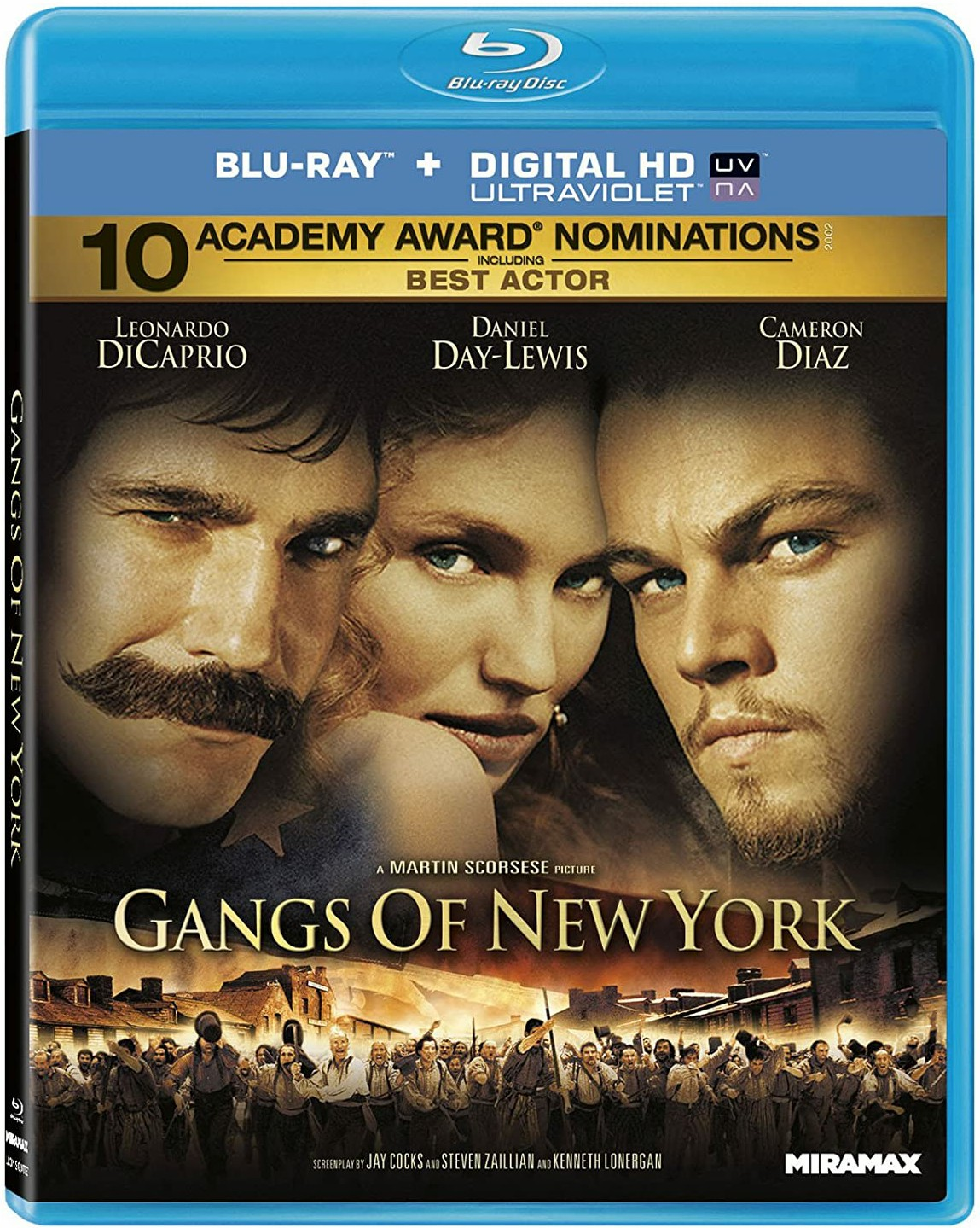 Gangs of New York 2002 Hindi Dual Audio 600MB BluRay ESubs Download