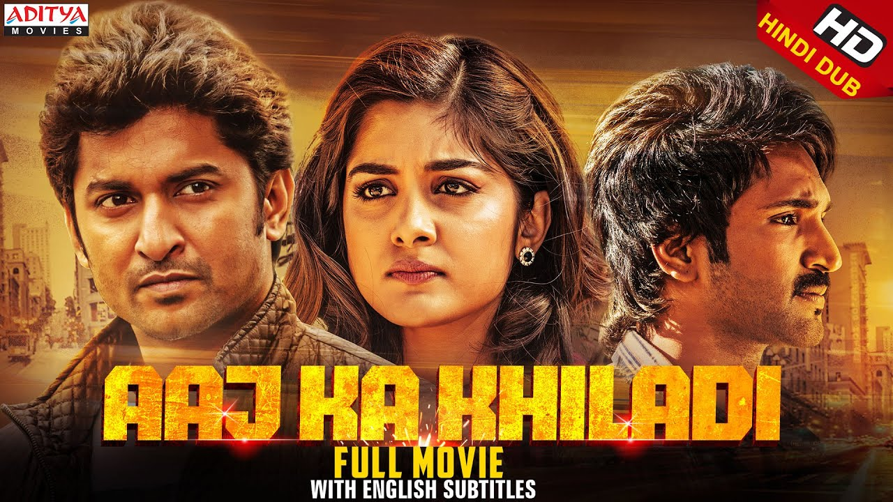 Aaj Ka Khiladi (Ninnu Kori) 2020 Hindi Dubbed Movie 480p HDRip 400MB x264 AAC