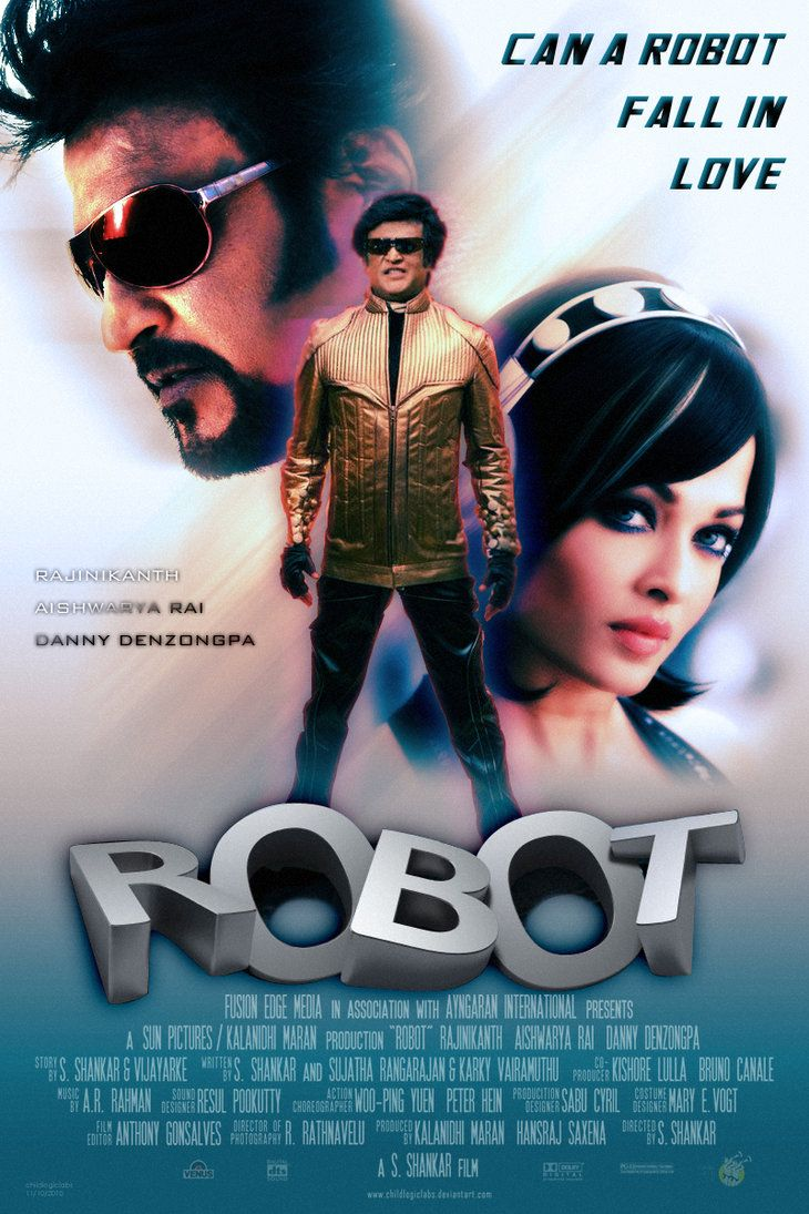 Robot 2010 Hindi 550MB BluRay 480p ESubs Download