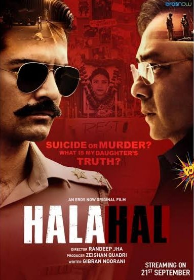 Halahal 2020 Hindi 500MB HDRip 720p HEVC x265 ESubs 500MB