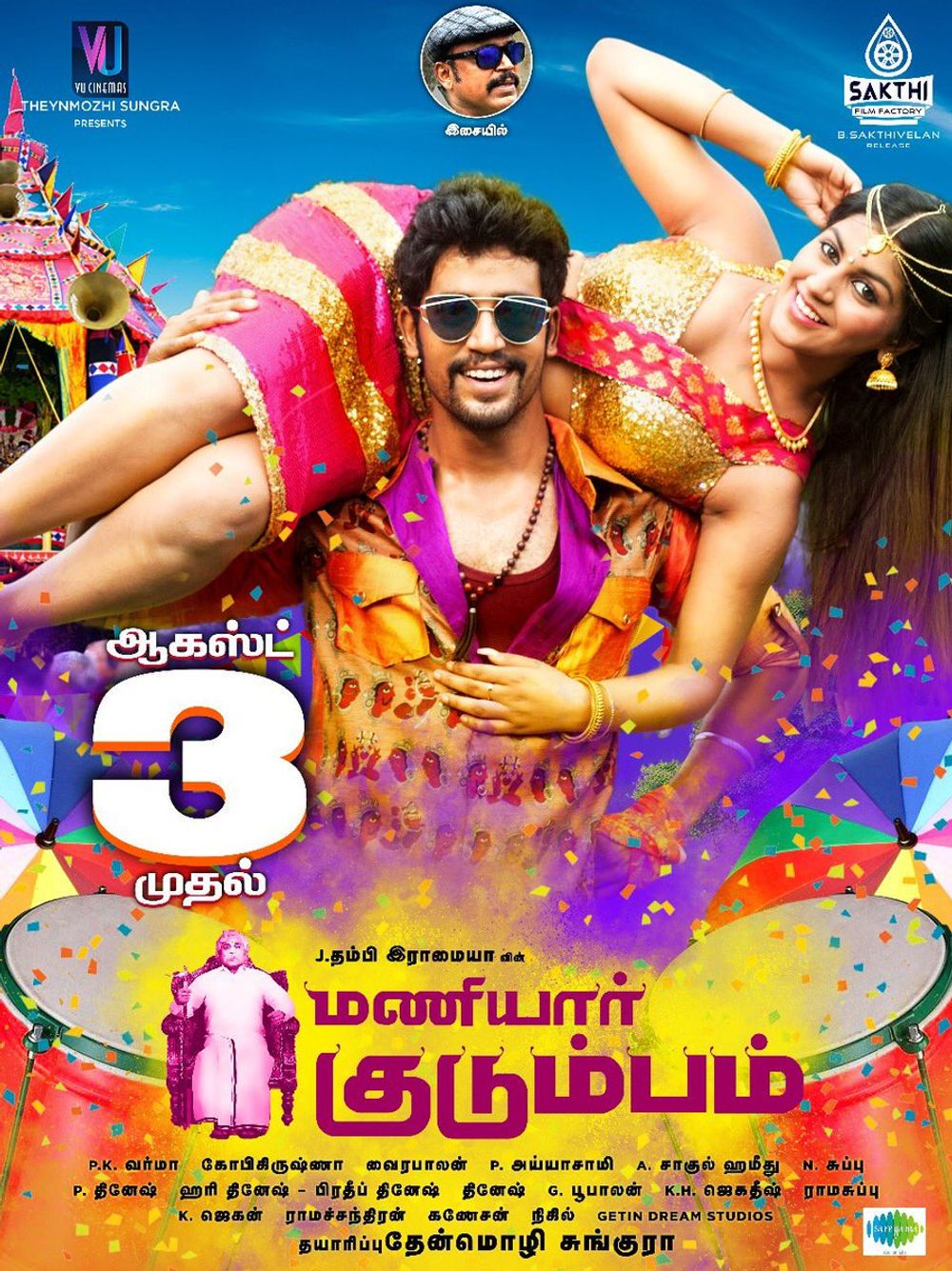 Maniyar Kudumbam 2020 Hindi Dubbed 300MB HDRip 480p Download
