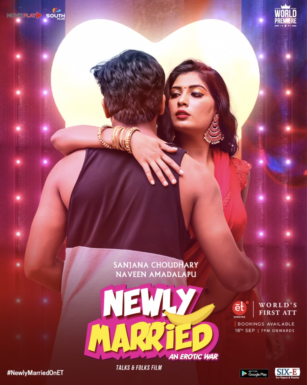 18+ Newly Married 2020 Telugu Hot Movie 720p HDRip 200MB x264 AAC
