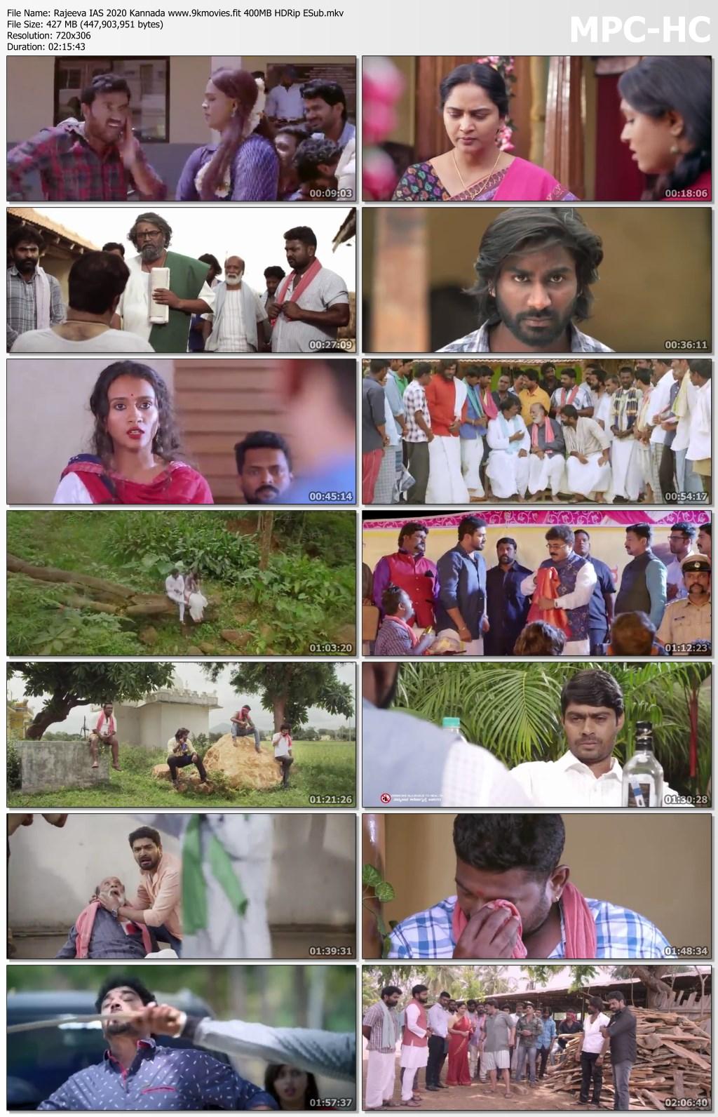Rajeeva IAS 2020 Kannada 400MB HDRip ESub Download
