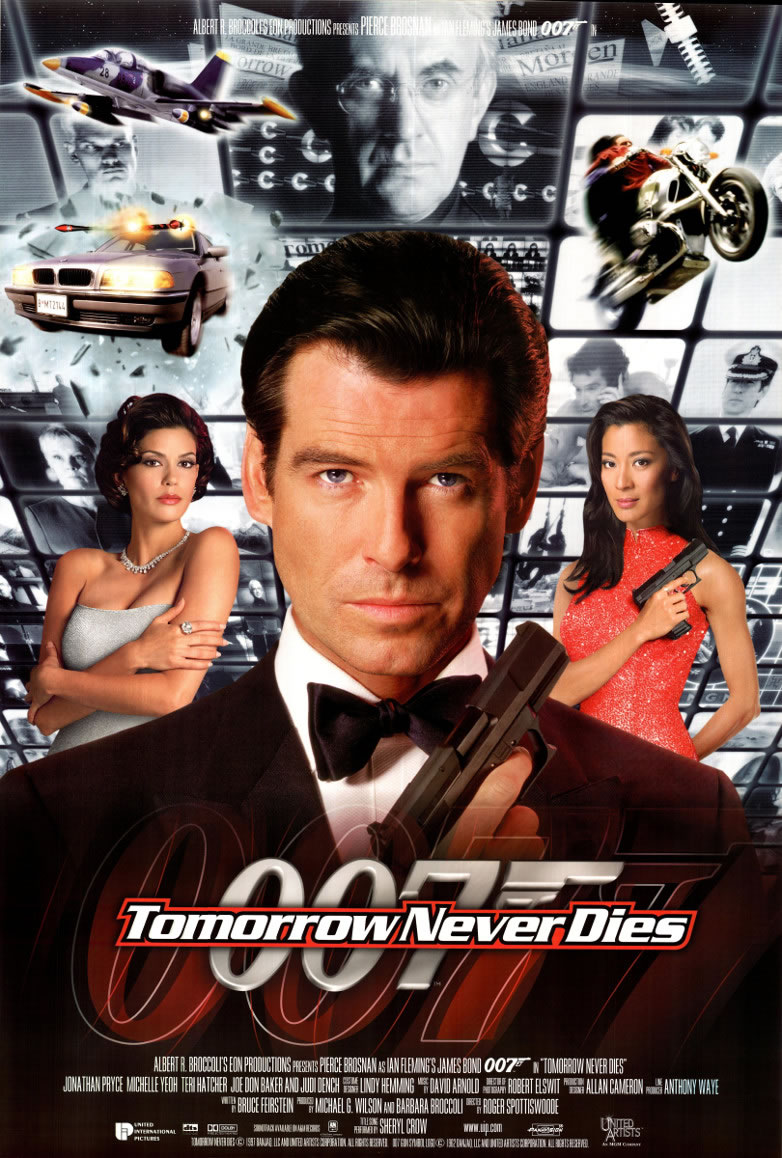 Tomorrow Never Dies 1997 Dual Audio Hindi 300MB BluRay 480p ESubs Download