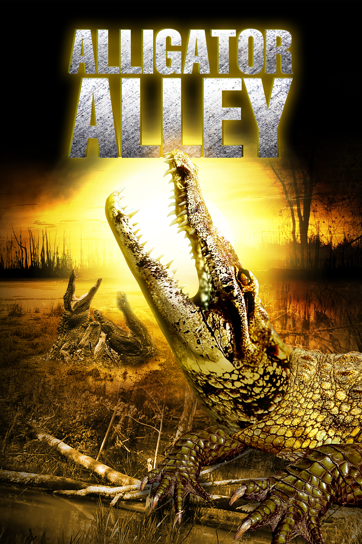 Alligator Alley 2013 Dual Audio Hindi 300MB BluRay 480p Download