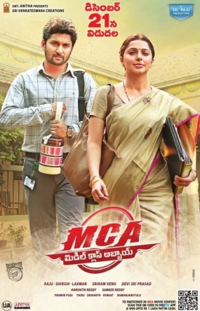 MCA Middle Class Abbayi 2017 Hindi Dual Audio 480p UNCUT HDRip ESubs 500MB x264 AAC