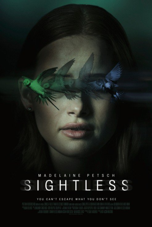 Sightless 2020 English Full Movie 720p HDRip 800MB Download